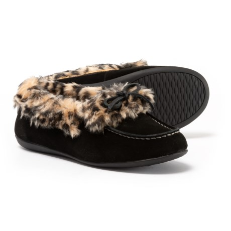 Vionic Orthaheel Technology Juniper Slippers (For Women) in Black