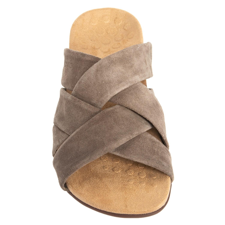 28aec4e0e30f vionic orthaheel for women Vionic Orthaheel Technology Juno Slide Sandals  (For Women) - Save