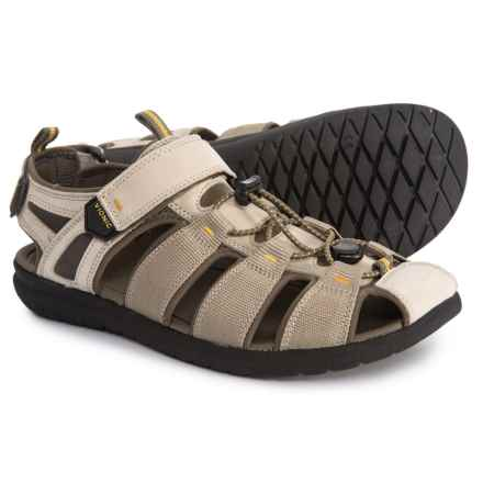 e28cd2b4a17 Vionic Orthaheel Technology Nate Fisherman Sandal with Arch Support -  Leather (For Men) in