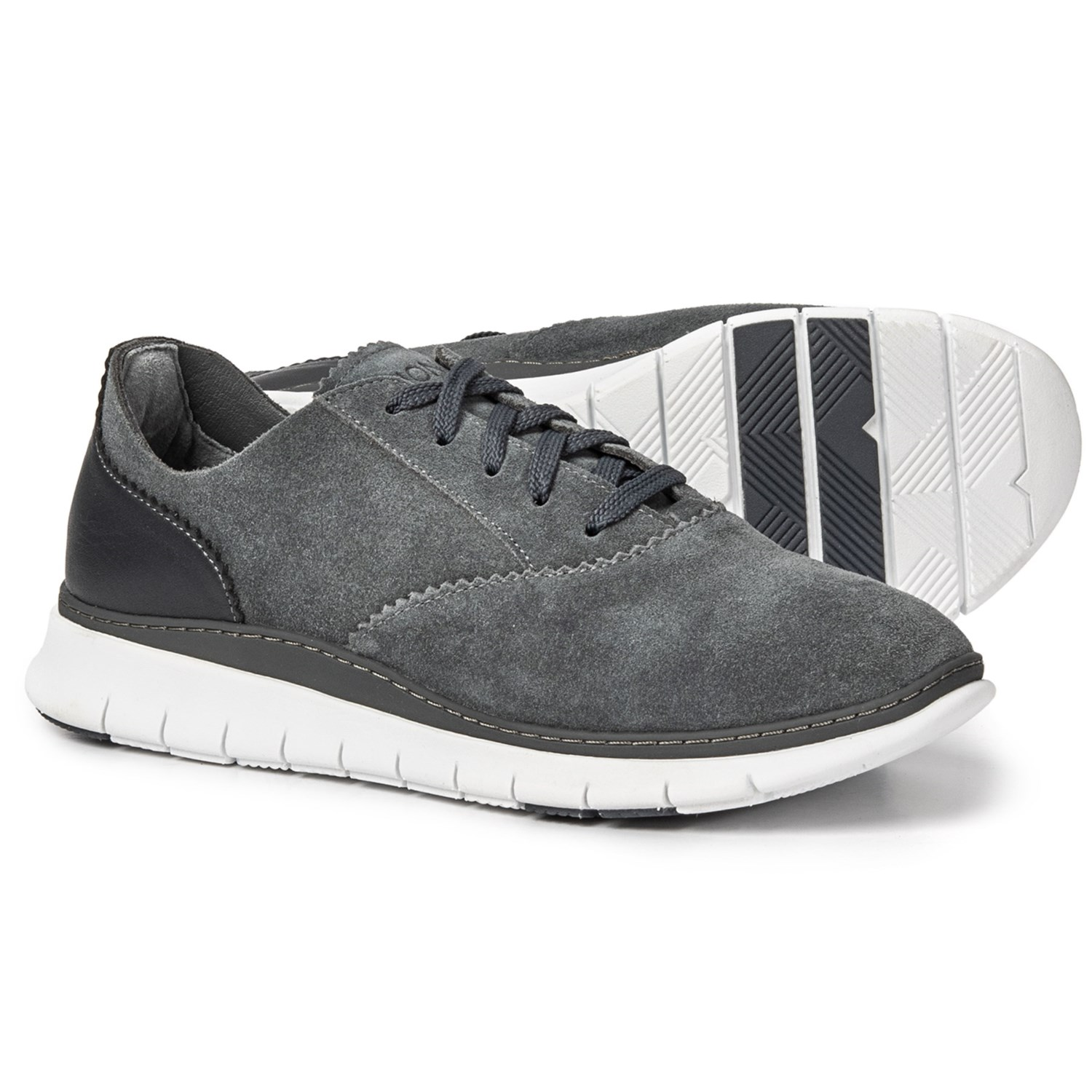 d4b8011fec09 Vionic Orthaheel Technology Taylor Sneakers - Suede (For Women) in Charcoal