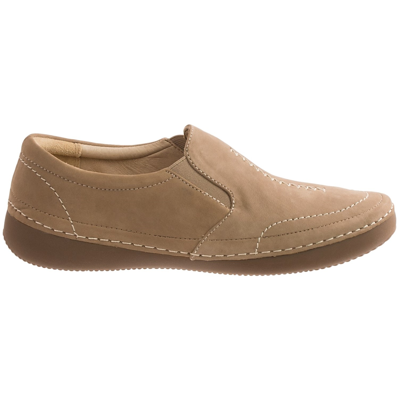 Vionic Shoes Leather Slip Om