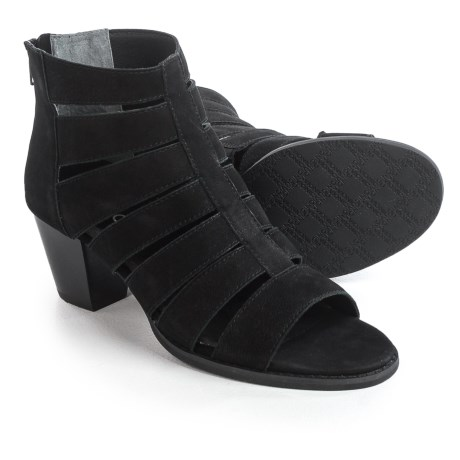 Vionic with Orthaheel Technology Aloft Harlow Shoes - Nubuck (For Women) in Black