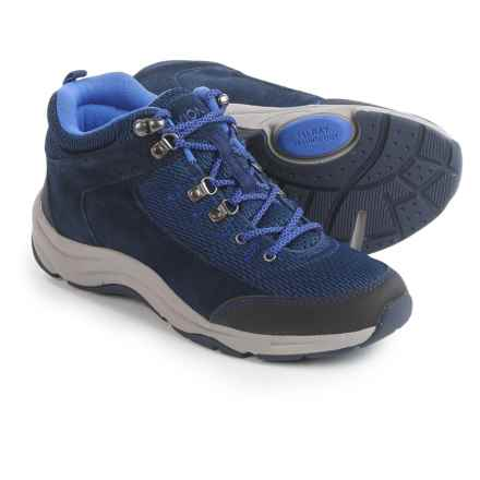 Vionic with Orthaheel Technology Cypress Trail Walker Sneakers (For Women) in Navy - Closeouts