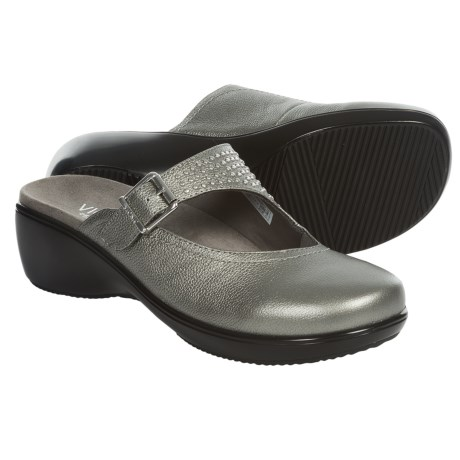 Vionic with Orthaheel Technology Elation Fallon Clogs Leather (For Women)
