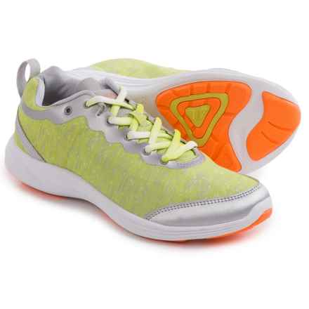 Vionic with Orthaheel Technology Fyn Shoes (For Women) in Grey/Yellow - Closeouts