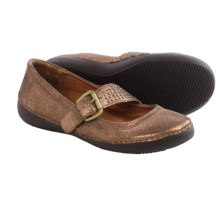 Vionic with Orthaheel Technology Goleta Mary Jane Shoes - Leather (For Women) in Bronze - Closeouts