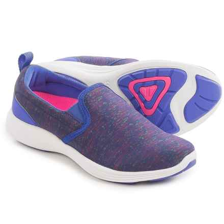Vionic with Orthaheel Technology Kea Shoes - Slip-Ons (For Women) in Cobalt - Closeouts