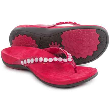 Vionic with Orthaheel Technology Sonali Sandals (For Women) in Fuschia - Closeouts