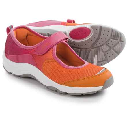 Vionic with Orthaheel Technology Sunset Mary Jane Shoes (For Women) in Orange - Closeouts