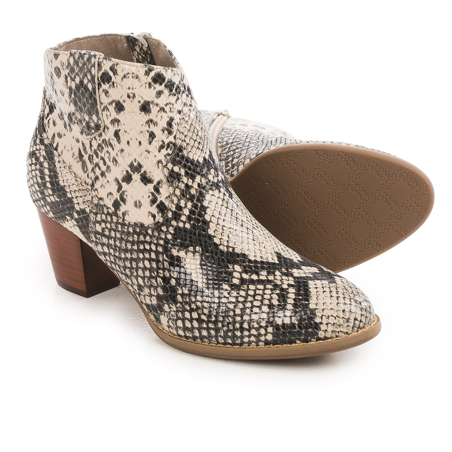 vionic with orthaheel technology windom ankle boots for