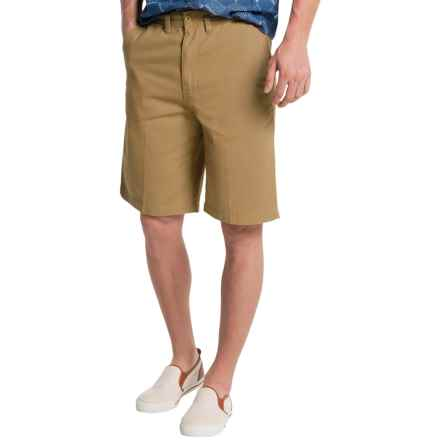 Visitor Cotton Shorts (For Men) in Khaki - Closeouts