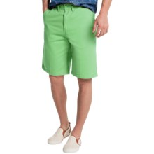 Visitor Cotton Shorts (For Men) in Mint - Closeouts