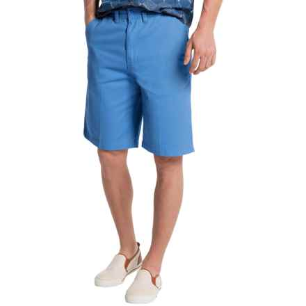 Visitor Cotton Shorts (For Men) in Ocean - Closeouts
