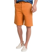 Visitor Cotton Shorts (For Men) in Peach - Closeouts