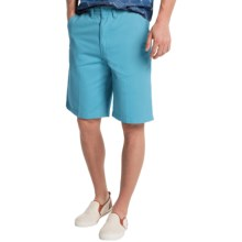 Visitor Cotton Shorts (For Men) in Sky - Closeouts