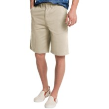 Visitor Cotton Shorts (For Men) in Stone - Closeouts