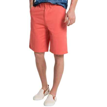 Visitor Cotton Shorts (For Men) in Washed Red - Closeouts