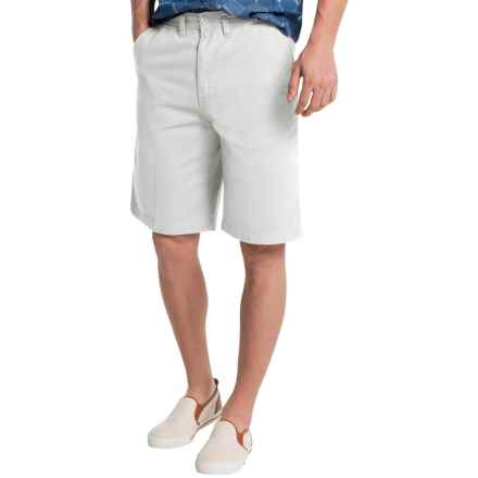 Visitor Cotton Shorts (For Men) in White - Closeouts