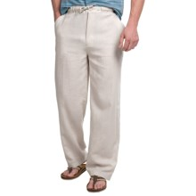 Visitor Linen Lounge Pants (For Men) in Natural - Closeouts
