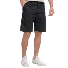 Vissla Factory Chino Shorts (For Men) in Black - Closeouts