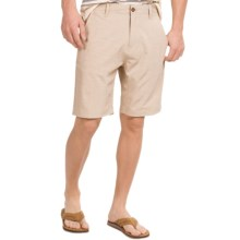 Vissla Fin Rope Hybrid Shorts (For Men) in Khaki - Closeouts