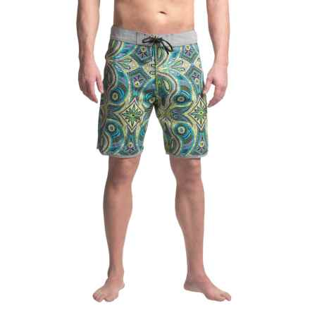 Vissla Mystery Reef Boardshorts (For Men) in Bright Sulfur - Closeouts
