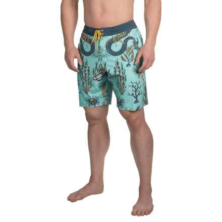 Vissla Mystic Abyss Boardshorts (For Men) in Jade - Closeouts