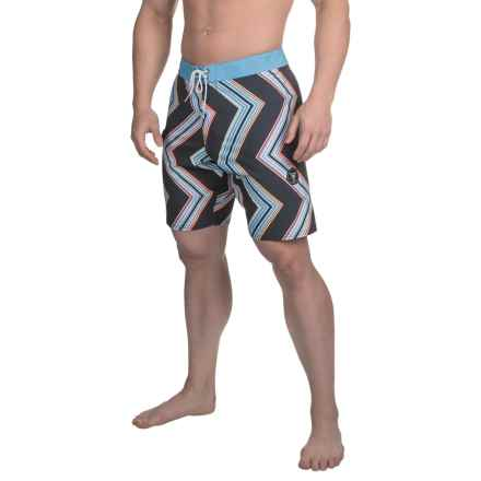 Vissla Raised by Waves Boardshorts (For Men) in Black - Closeouts