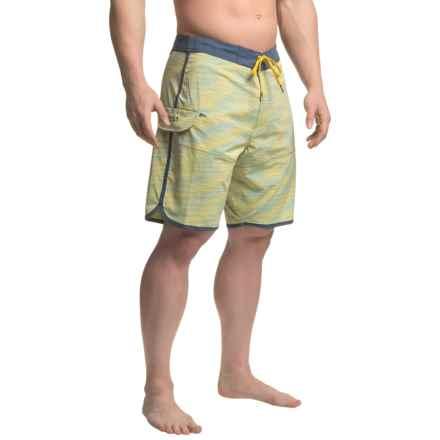 Vissla Spaced Diver Boardshorts (For Men) in Sun - Closeouts