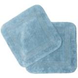 Vista Home Fashions Chalet Reversible Square Bath Mat Set - 2-Piece