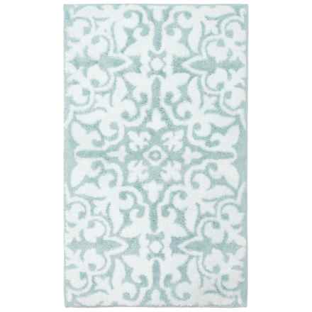 Bath rug average savings of 54 at sierra trading post for Hotel collection bathroom rugs
