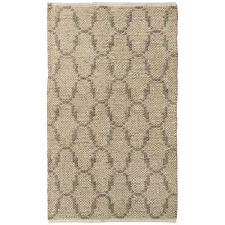 "Vista Home Fashions Millennium Wool Kilim Accent Rug - 27x45"" in Moroccan - Closeouts"