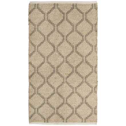 "Vista Home Fashions Millennium Wool Kilim Accent Rug - 27x45"" in Swish - Closeouts"