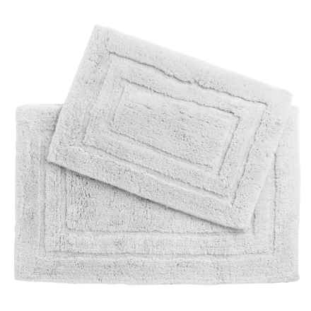 Vista Home Fashions Pure Plush Cotton Bath Rugs - Set of 2 in White - Closeouts