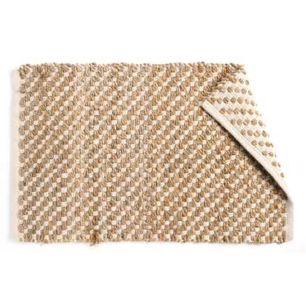 """Vista Home Natural Charms Jute Accent Rug - 24x36"""" in Weaves - Closeouts"""