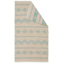 "Vista Home Rachel Rug - 27x45"" in Opal Blue - Closeouts"
