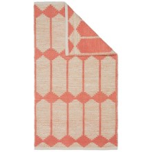 """Vista Home San Milange Rug - 27x45"""" in Coral - Closeouts"""
