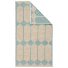 "Vista Home San Milange Rug - 27x45"" in Opal Blue - Closeouts"
