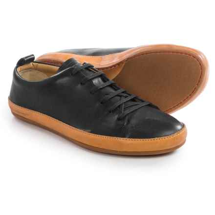 Vivobarefoot Bannister Leather Shoes - Lace-Ups (For Men) in Black - Closeouts