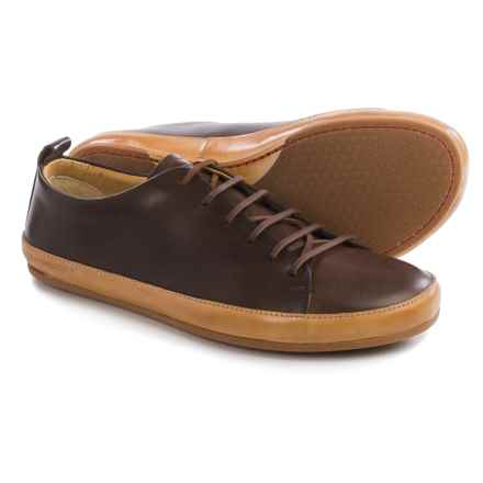 Vivobarefoot Bannister Leather Shoes - Lace-Ups (For Men) in Dark Brown - Closeouts