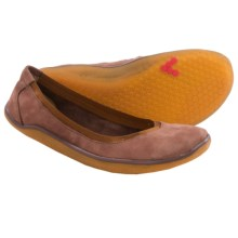 Vivobarefoot Daisy Shoes - Nubuck (For Women) in Tan - Closeouts