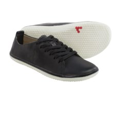 Vivobarefoot Freud 2 Leather Shoes - Minimalist (For Men) in Black - Closeouts