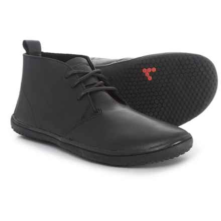 VivoBarefoot Gobi II Chukka Boots - Leather (For Women) in Black - Closeouts