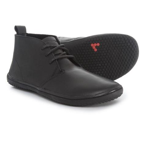 VivoBarefoot Gobi II Chukka Boots - Leather (For Women) in Black