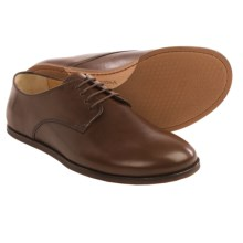 Vivobarefoot Lisbon Leather Shoes - Minimalist (For Men) in Dark Brown - Closeouts