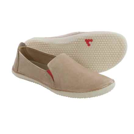Vivobarefoot Mata Shoes - Leather, Slip-Ons (For Women) in Mole - Closeouts