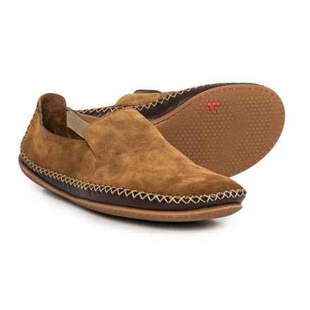 VivoBarefoot Opanka Shoes - Suede, Slip-Ons (For Men) in Chesnut - Closeouts