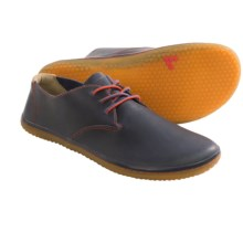 Vivobarefoot RA Leather Shoes - Contrast Laces, Minimalist (For Men) in Navy - Closeouts
