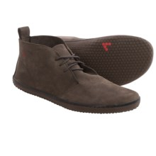 VivoBarefoot Sole of Africa Gobi Chukka Boots – Leather, Minimalist (For Men) in Dark Brown - Closeouts