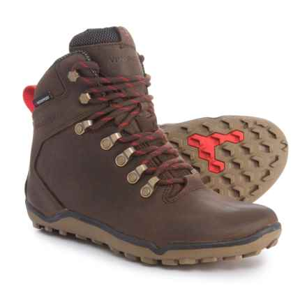 VivoBarefoot Tracker Hiking Boots - Waterproof (For Women) in Dark Brown - Closeouts